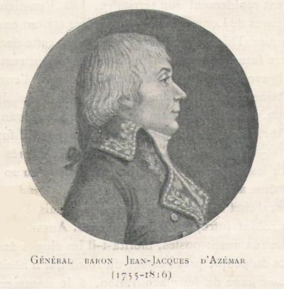 1757-1816 – GENERAL BARON JEAN-JACQUES D'AZEMAR